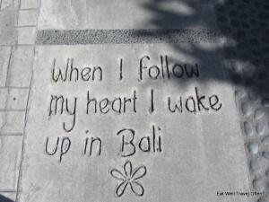 Bali walk