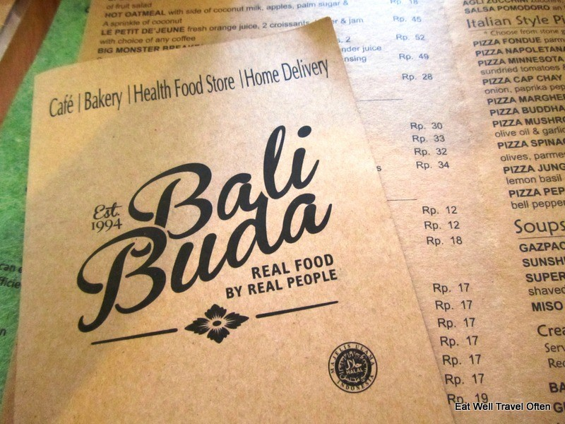 Food heaven at Bali Buda