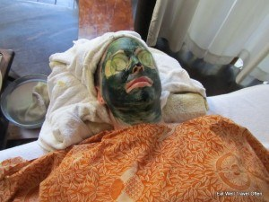 My spirulina face mask