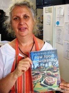 Karen Batrz raw food chef and author