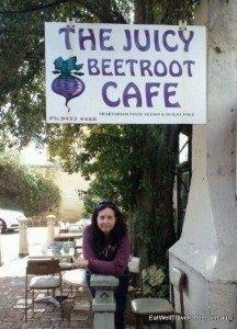 Juicy Beetroot café in Fremantle