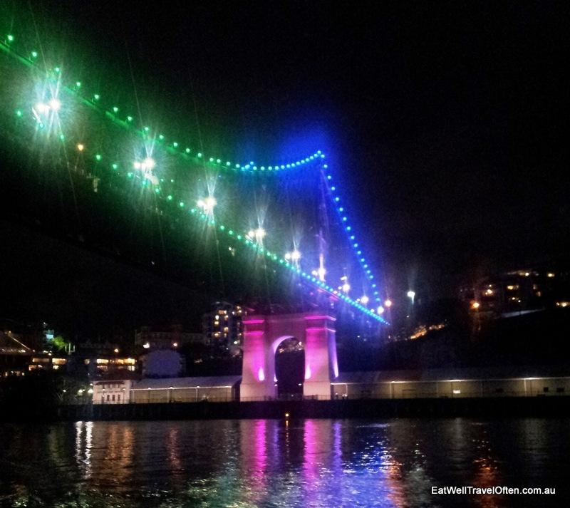 The iconic Storey Bridge