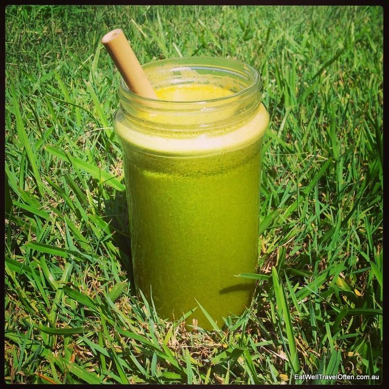 Delicious green juice!