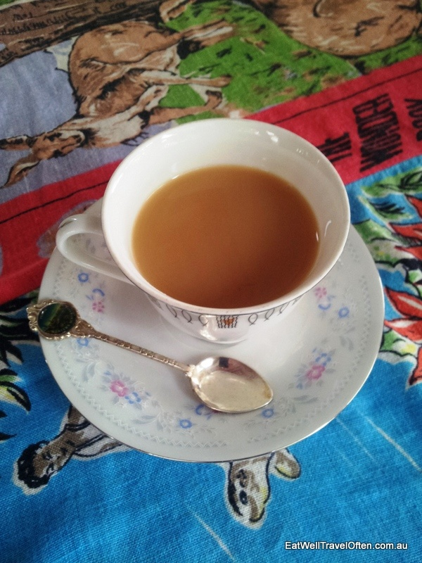 A nice cuppa from the Loose Leaf Tea House