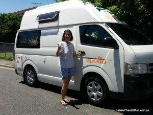 Have van will travel!