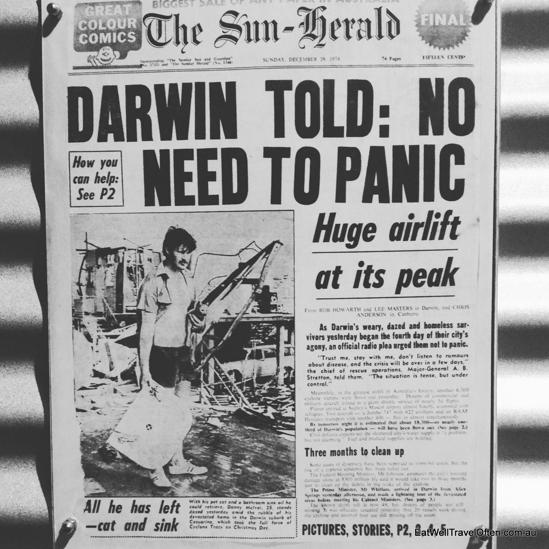 cyclone tracy darwin