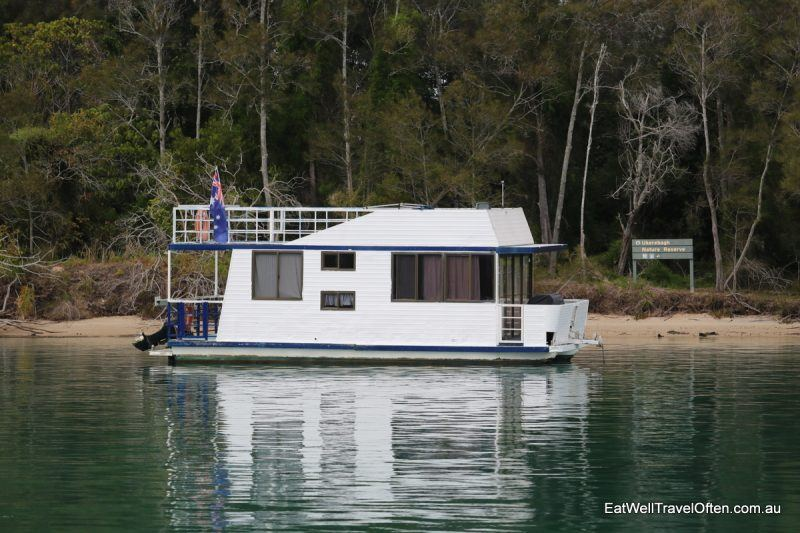 Tweed River house boat