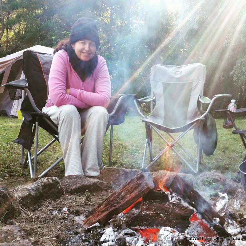 a-campfire