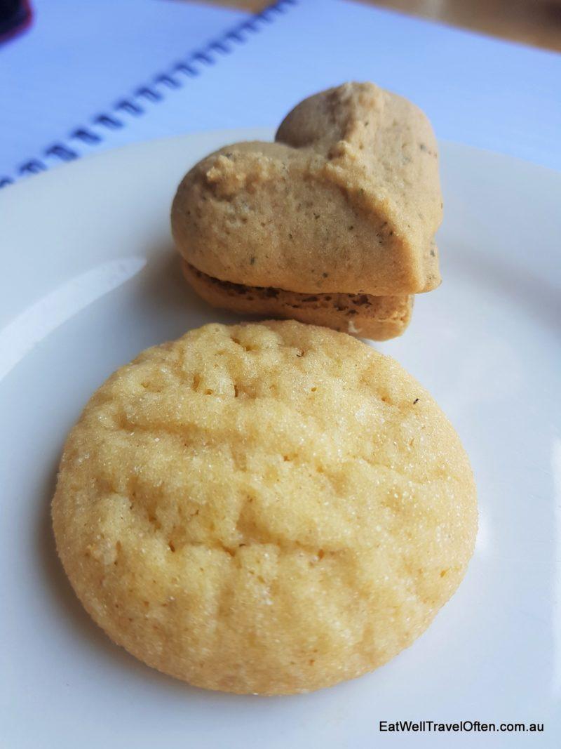 bunya nut homemade biscuits