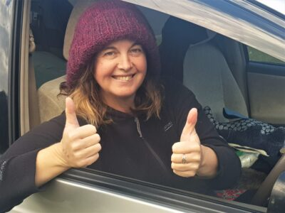 Shannon Gordon happy to be leaving on her epic van trip
