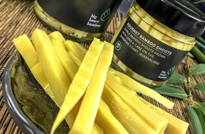 gourmet edible bamboo shoots