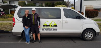Door to door service wth Stanthorpe bike tours